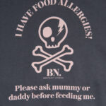 Toddler Allergy Alert Shirt