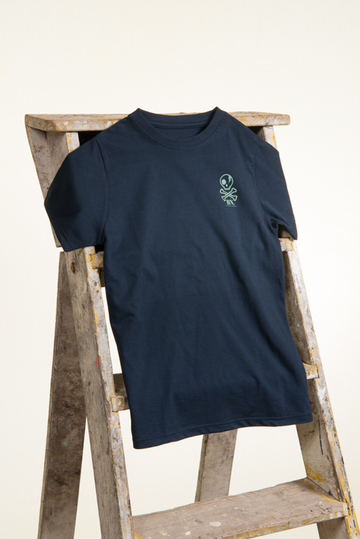 kids allergy tshirts navy